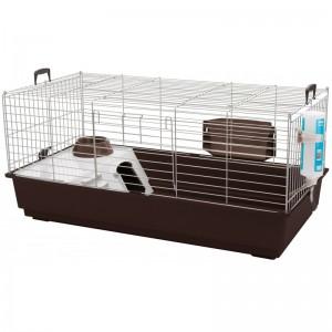 savic-konijnenkooi-nero-3-de-luxe-antraciet