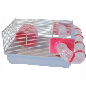 voltrega-hamsterkooi-115-grijs-roze